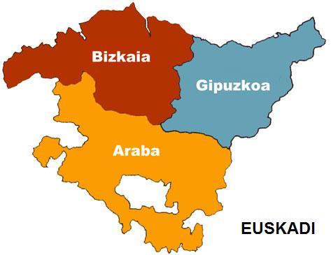 Ikusten da Euskadiren mapa / Se ve el mapa de Euskadi