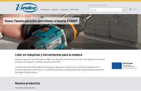 Virutexren web - web de Virutex